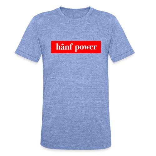 Hanf Power RED - Unisex Tri-Blend T-Shirt von Bella + Canvas