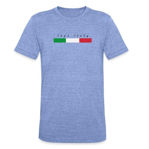Info Italy Design - Maglietta unisex tri-blend di Bella + Canvas