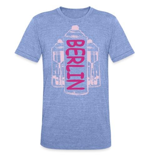 Berlin Power - Unisex Tri-Blend T-Shirt von Bella + Canvas