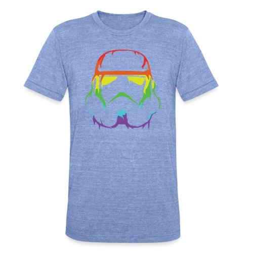Pride Trooper - simple - Bella + Canvasin unisex Tri-Blend t-paita.
