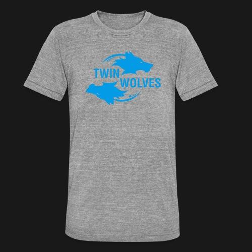 Twin Wolves Studio - Maglietta unisex tri-blend di Bella + Canvas