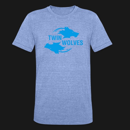 Twin Wolves Studio - Maglietta unisex tri-blend di Bella + Canvas