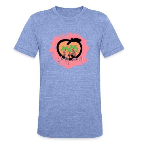 Liberty Peach City - T-shirt chiné Bella + Canvas Unisexe