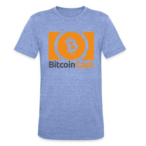Bitcoin Cash - Bella + Canvasin unisex Tri-Blend t-paita.