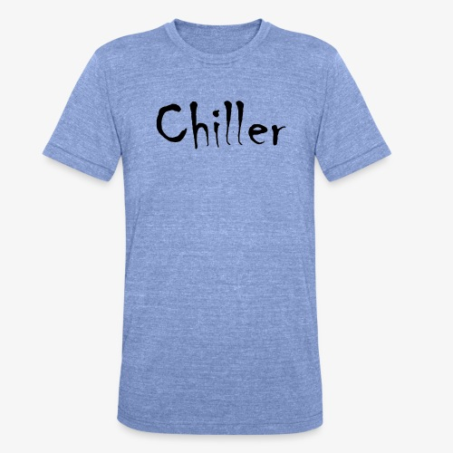 Chiller da real - Unisex tri-blend T-shirt van Bella + Canvas