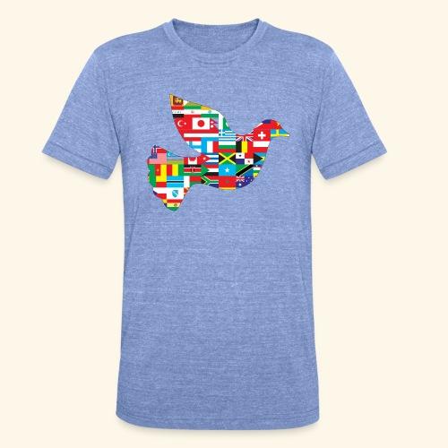countrys t-shirt - Camiseta Tri-Blend unisex de Bella + Canvas