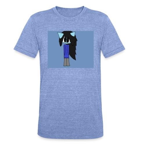 my cartoon self - Unisex Tri-Blend T-Shirt by Bella & Canvas