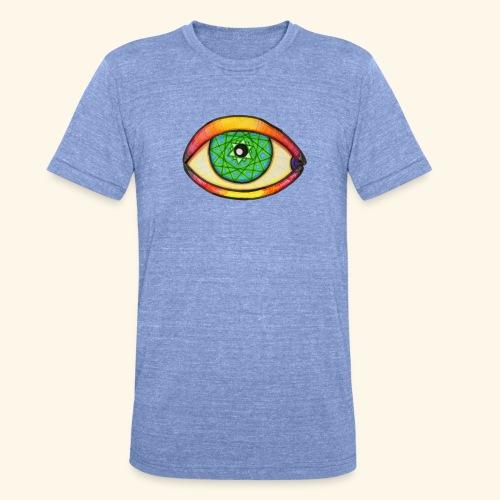 Oeil étoile 2 - T-shirt chiné Bella + Canvas Unisexe
