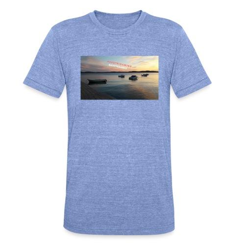 Merch - Unisex Tri-Blend T-Shirt von Bella + Canvas