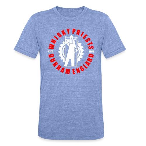 IRON MAN LOGO RED WHITE TRANS - Unisex Tri-Blend T-Shirt by Bella & Canvas