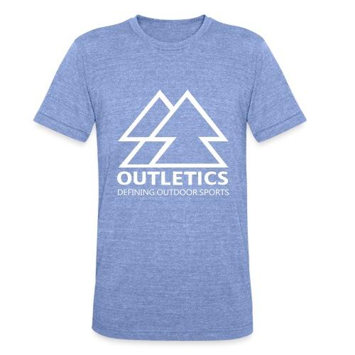 outletics denim - Unisex Tri-Blend T-Shirt von Bella + Canvas
