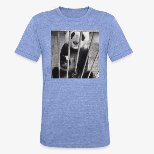 Pandazaki - T-shirt chiné Bella + Canvas Unisexe