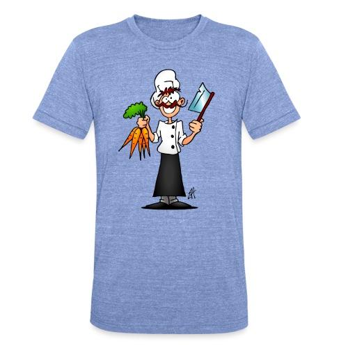The vegetarian chef - Unisex Tri-Blend T-Shirt by Bella & Canvas