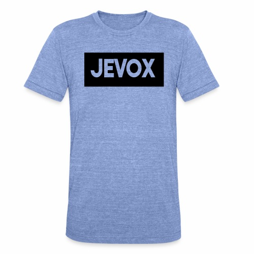 Jevox Black - Unisex tri-blend T-shirt van Bella + Canvas