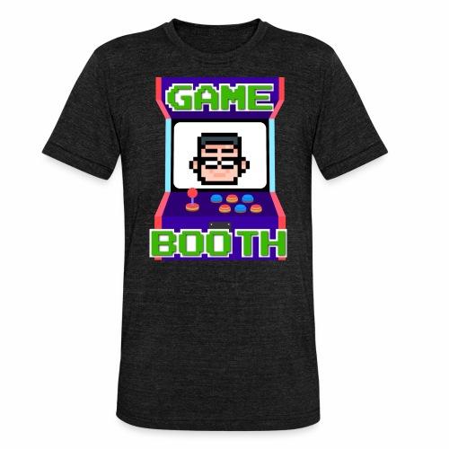 GameBooth Icon Logo - Unisex Tri-Blend T-Shirt by Bella & Canvas