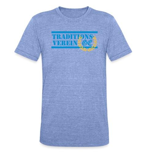 Traditionsverein - Unisex Tri-Blend T-Shirt von Bella + Canvas