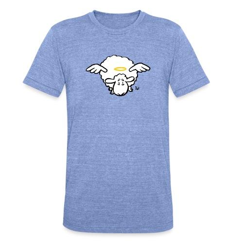 Angel Sheep - T-shirt chiné Bella + Canvas Unisexe