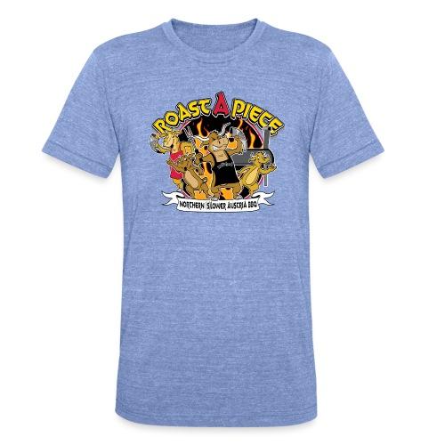 Roast a Piece Streetwear - Unisex Tri-Blend T-Shirt von Bella + Canvas