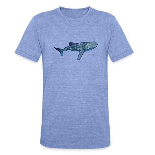 Whale shark - Unisex Tri-Blend T-Shirt by Bella & Canvas