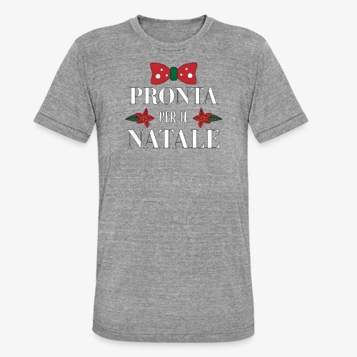 Il regalo di Natale perfetto - Maglietta unisex tri-blend di Bella + Canvas