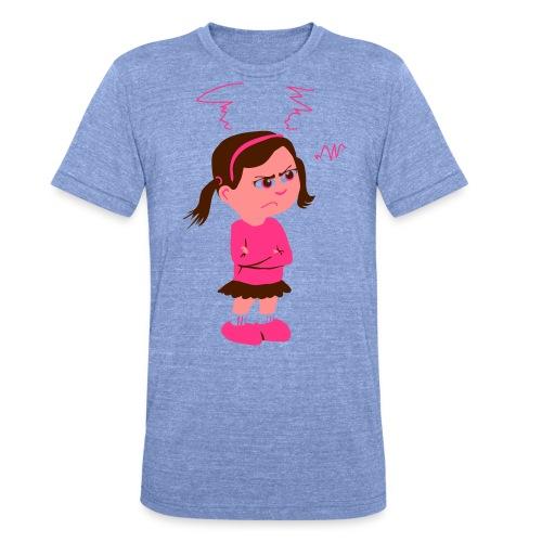 Lass mich - bin angepisst - Unisex Tri-Blend T-Shirt von Bella + Canvas