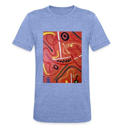 Antonius' Afrika2 - Camiseta Tri-Blend unisex de Bella + Canvas