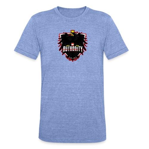 AUThority Gaming red - Unisex Tri-Blend T-Shirt von Bella + Canvas