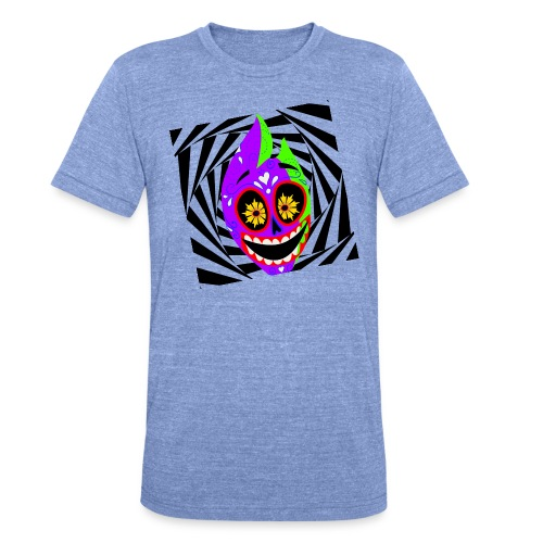 Halloween - Unisex Tri-Blend T-Shirt von Bella + Canvas