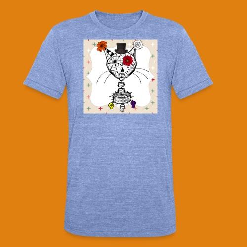 cat color - Unisex Tri-Blend T-Shirt by Bella & Canvas