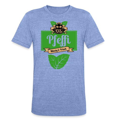 Pfeffi T-Shirt Men - Unisex Tri-Blend T-Shirt von Bella + Canvas