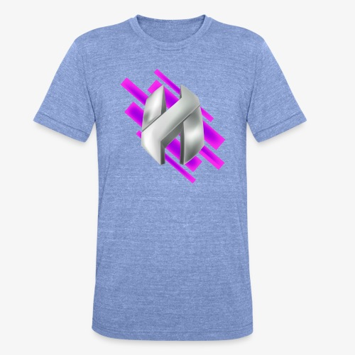 Abstract Purple - Unisex Tri-Blend T-Shirt by Bella & Canvas
