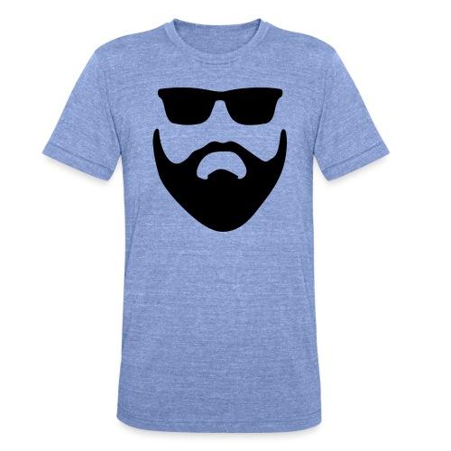 Bartman Silhouette - Unisex Tri-Blend T-Shirt von Bella + Canvas