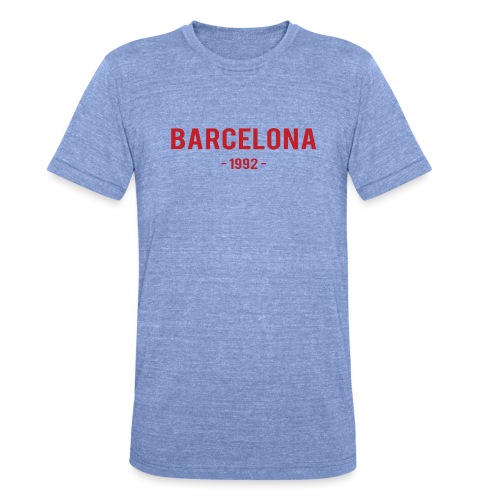 Barcelona 1992 - Unisex Tri-Blend T-Shirt by Bella & Canvas