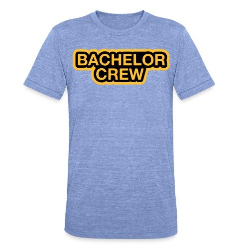 Bachelor Crew - Bachelor T-Shirt - Bräutigam Shirt - Unisex Tri-Blend T-Shirt von Bella + Canvas
