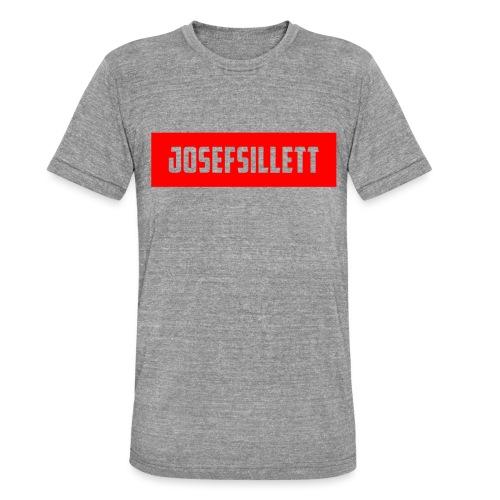 Josef Sillett Red - Unisex Tri-Blend T-Shirt by Bella & Canvas