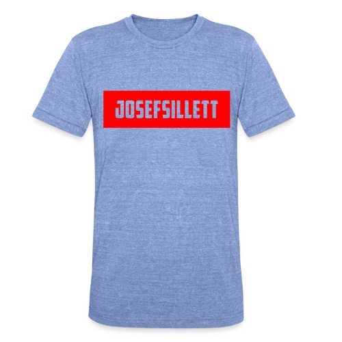 Josef Sillett Red - Unisex Tri-Blend T-Shirt by Bella & Canvas
