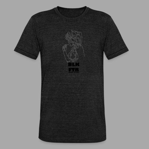 BLK FTR N°6 - Maglietta unisex tri-blend di Bella + Canvas