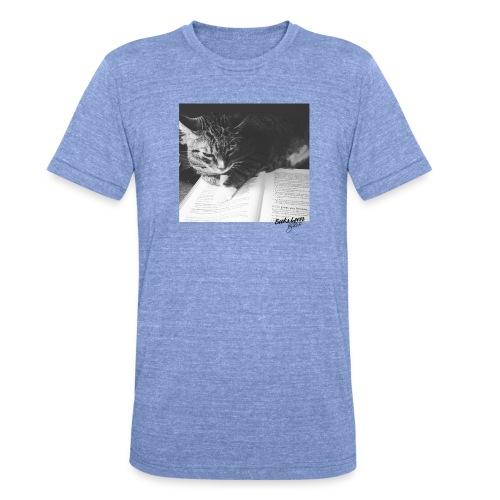 Books&Cat - T-shirt chiné Bella + Canvas Unisexe