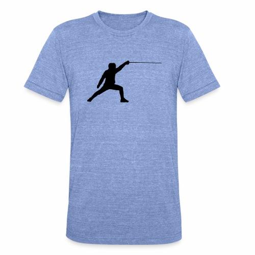 Fencer - Unisex Tri-Blend T-Shirt von Bella + Canvas