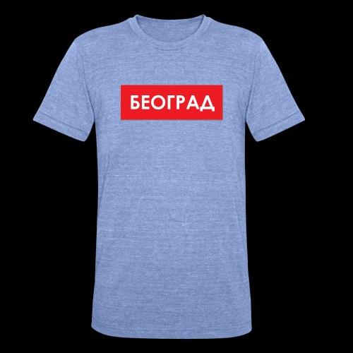 Beograd - Utoka - Unisex Tri-Blend T-Shirt von Bella + Canvas