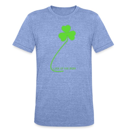 Luck of the Irish - Unisex Tri-Blend T-Shirt by Bella & Canvas