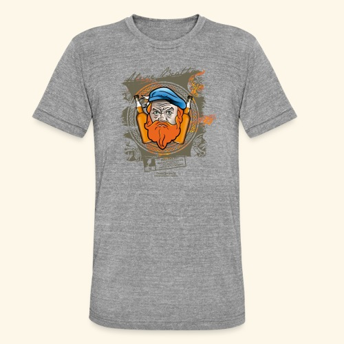 Malthead Whisky T Shirt - Unisex Tri-Blend T-Shirt von Bella + Canvas