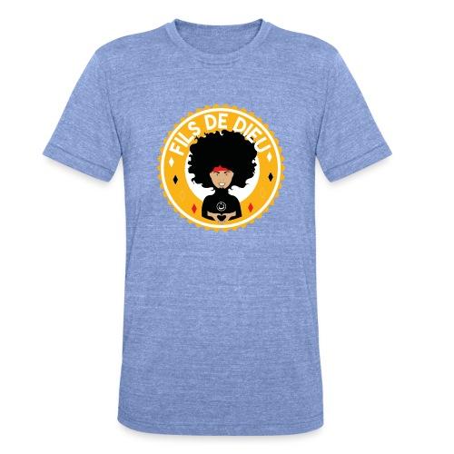 Fils de Dieu jaune - T-shirt chiné Bella + Canvas Unisexe