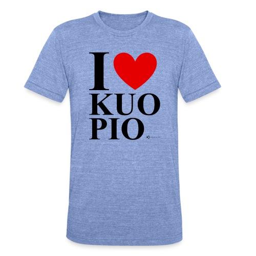 I LOVE KUOPIO ORIGINAL (musta) - Bella + Canvasin unisex Tri-Blend t-paita.