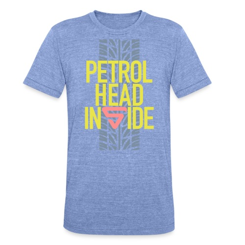 Petrolhead inside - T-shirt chiné Bella + Canvas Unisexe