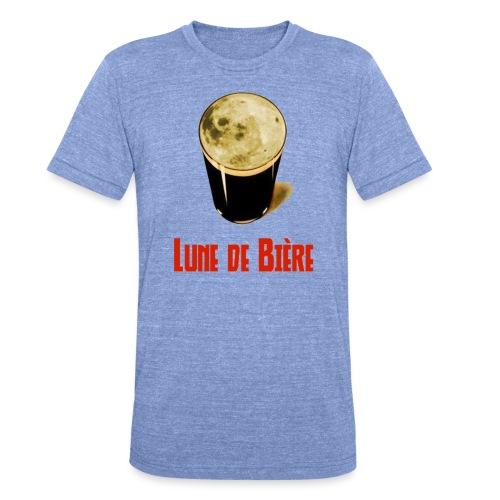 Logo Lune de Bière - T-shirt chiné Bella + Canvas Unisexe