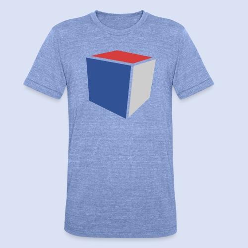 Cube Minimaliste - T-shirt chiné Bella + Canvas Unisexe