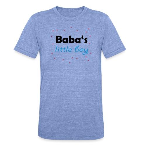 Baba's litte boy Babybody - Unisex Tri-Blend T-Shirt von Bella + Canvas