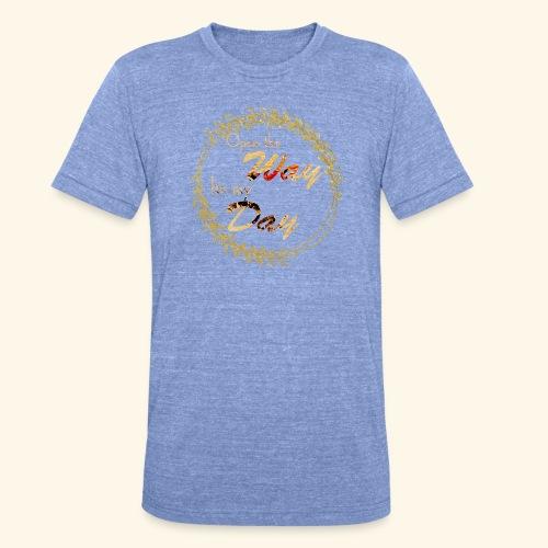 its my day weddingcontest - Unisex Tri-Blend T-Shirt by Bella & Canvas
