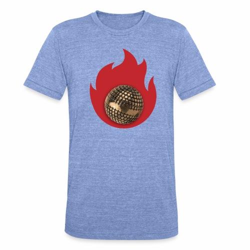 petanque fire - T-shirt chiné Bella + Canvas Unisexe